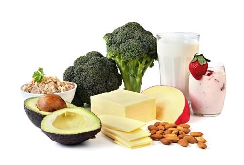 Vitamin K Milchprodukte grünes Gemüse